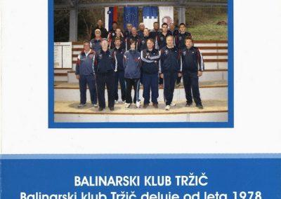 Balinarski klub Tržič, predstavitvena zloženka 3a
