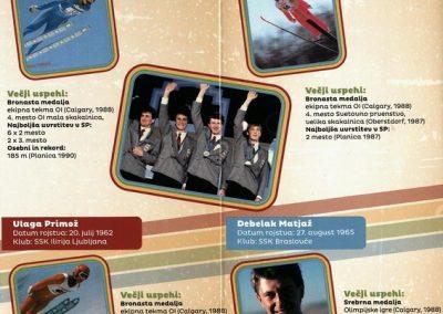 Nordijski smučarski klub Tržič, 2014, Stari orli, Tekmovanje v smučarskih skokih, predstavitvena zloženka s programom 3e