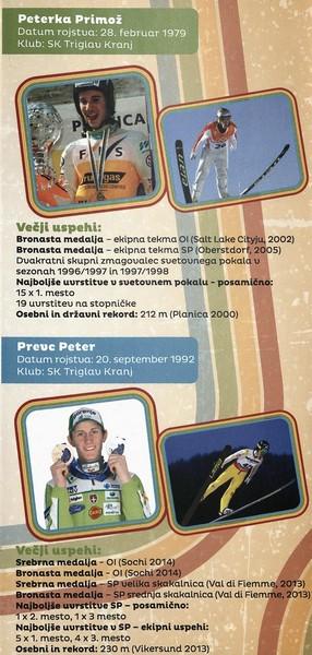 Nordijski smučarski klub Tržič, 2014, Stari orli, Tekmovanje v smučarskih skokih, predstavitvena zloženka s programom 3h