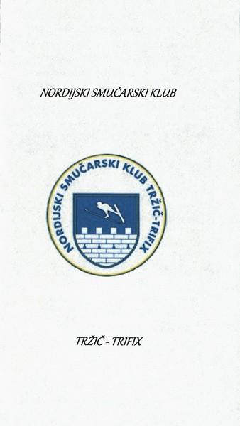 Nordijski smučarski klub, Tržič - Trifix, predstavitvena zloženka 3a