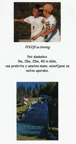 Nordijski smučarski klub, Tržič - Trifix, predstavitvena zloženka 3d