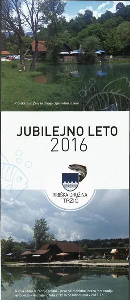 Ribiška družina Tržič, Jubilejno leto 2016, predstavitvena zloženka 3a